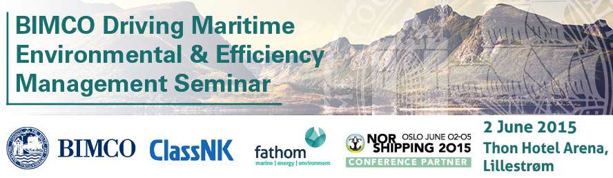 BIMCO Driving Maritime Environmental & Efficiency Management Seminar